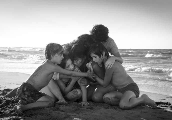 Une scène du film« Roma», d'Alfonso Cuaron.