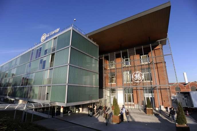 Le siège européen de GE (General Electric) Power à Belfort, dans l'est de la France.
