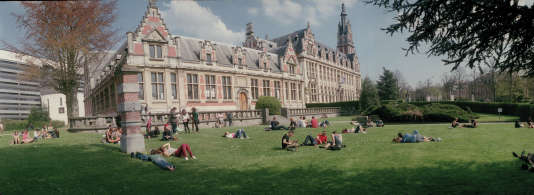 L'Université libre de Bruxelles.