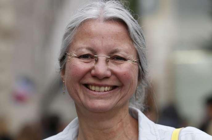 Agnès Thill, députée La République en marche de l'Oise, en mai 2017.