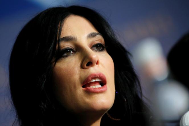 La réalisatrice libanaise Nadine Labaki (ici au Festival de Cannes en mai 2018) est en lice pour le César du meilleur film étranger avec« Capharnaüm».