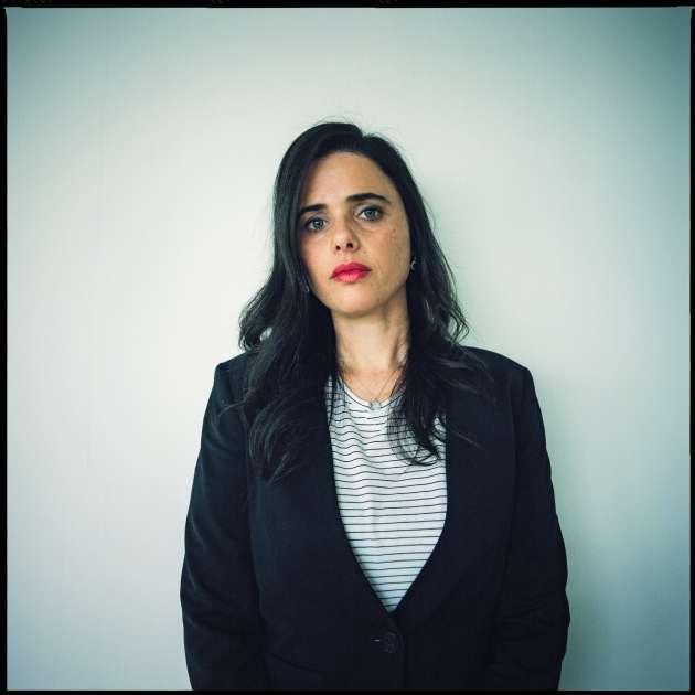 Ayelet Shaked, dans son bureau de Tel-Aviv, le 31 décembre 2018.
