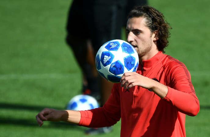 Depuis vendredi 18 janvier, Adrien Rabiot, 23 ans, « s'entretient » avec la formation B du PSG.