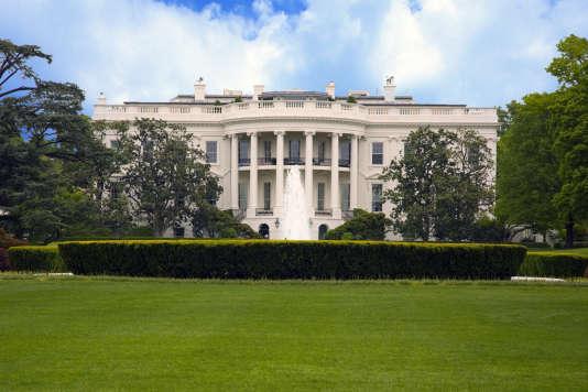 La Maison Blanche, à Washington DC, Etats-Unis, en avril 2010.