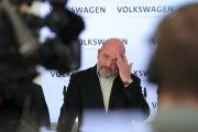 Bernd Osterloh, président du conseil des salariés de Volkswagen, en novembre 2017, à Wolfsburg (Basse-Saxe).
