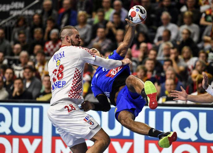 Mondial de handball: la Croatie met fin à l'invincibilité des Bleus (dans un match sans enjeu)