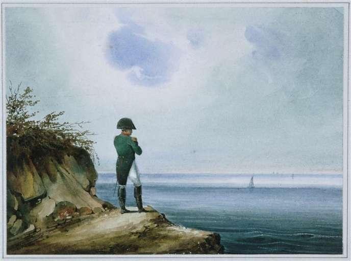 « Napoléon à Sainte-Hélène», de Franz Josef Sandmann.