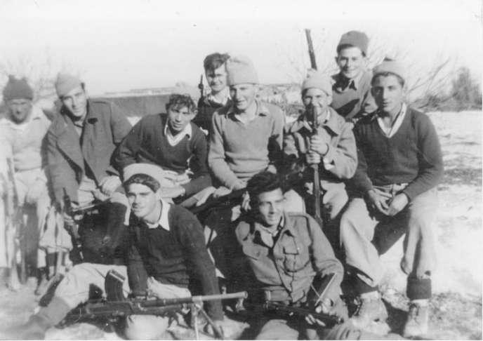 Le Palmach, autour de 1948.