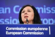 La commissaire européenne à la justice, Vera Jourova, le 10décembre 2018, à Bruxelles.