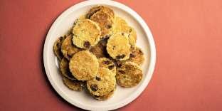 Des biscuits croquants à l'extérieur et moelleux à l'intérieur.