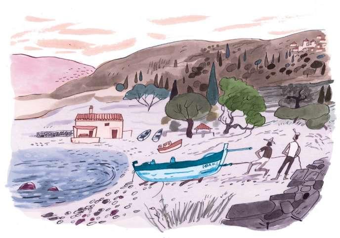 Avec «Ulysse, les chants du retour» (2014), Jean Harambat propose une relecture moderne du retour du héros à Ithaque.