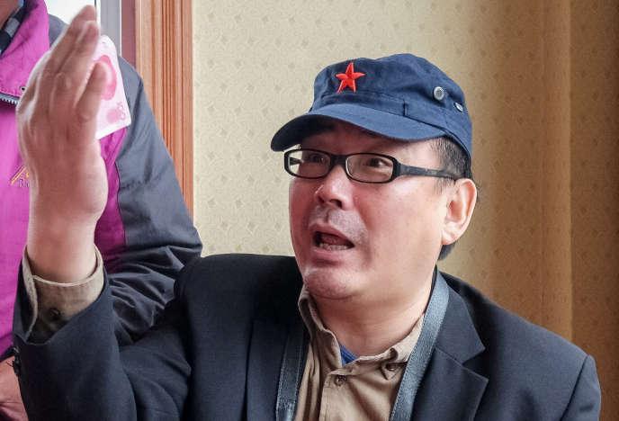Yang Hengjun au Tibet, en Chine, à la mi-juillet 2014.
