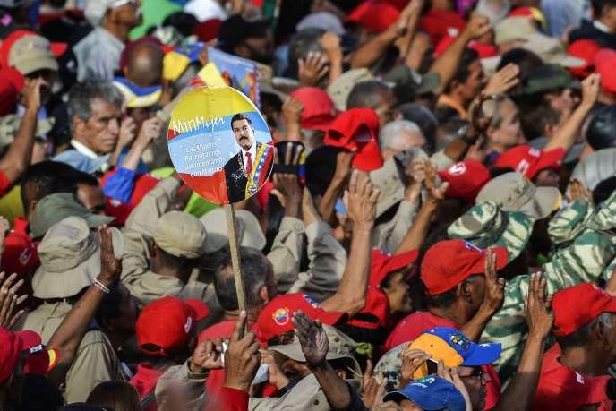 A Caracas, le 23 janvier.