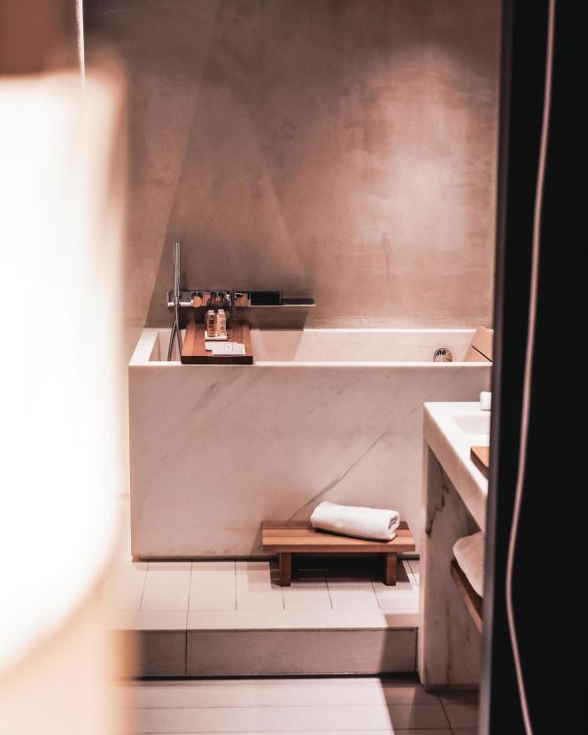 Se plonger dans un bain japonais : idéal avant de dormir.