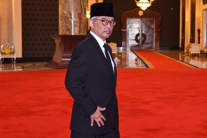 Le nouveau roi de Malaisie, le sultan Abdullah, le 24 janvier 2019, à Kuala Lumpur.