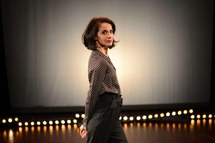 L'humoriste Sophia Aram dans «A nos amours», auPalais des glaces à Paris.