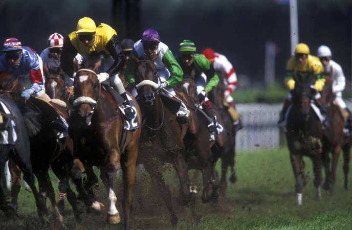 Course de chevaux, Deauville France
