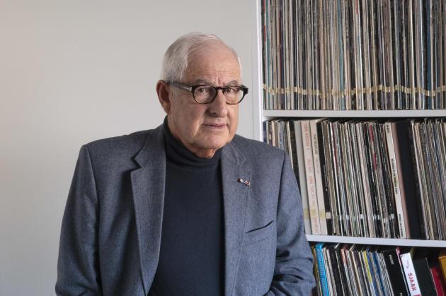 Salo Muller, le 11 janvier à son domicile d'Amsterdam (Pays-Bas).
