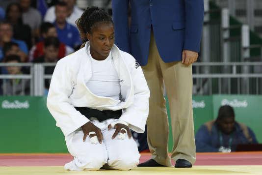 La carrière olympique de Gévrise Emane s'était achevée par une défaite au premier tour des Jeux de Rio, en2016.