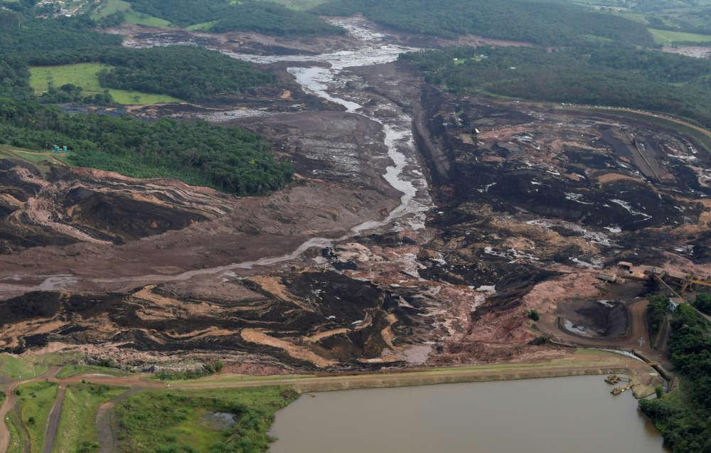 Le drame c'est produit le 25 janvieren début d'après-mid, à la mine Corrego do Feijão, proche de Brumadinho, commune de 39000 habitants située à 60 km au sud-ouest de Belo Horizonte, la capitale de l'Etat du Minas Gerais.
