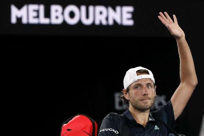 Lucas Pouille fera un bond au classement après sa demi-finale à l'Open d'Australie.