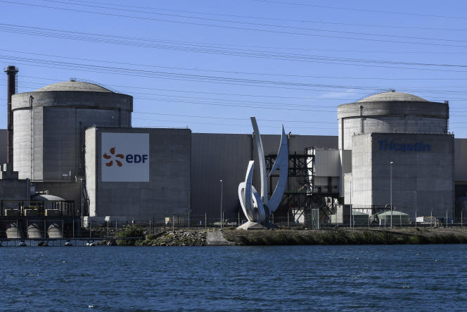 La centrale nucléaire du Tricastin (Drôme), en octobre 2017.