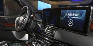 Le dernier cri en matière de technologie automobile, pour une connectivité, une personnalisation, une sécurité optimales de Harman, présenté au (CES), le mercredi 9 janvier 2019 à Las Vegas