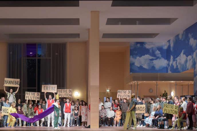 « Les Troyens» de Berliozàl'Opéra Bastille à Paris.