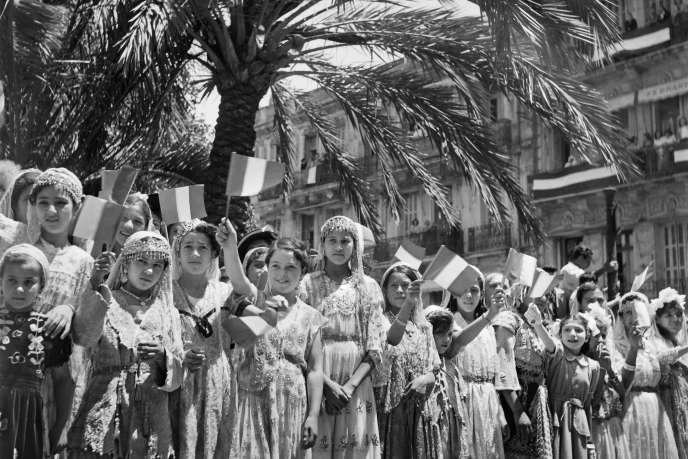 Dans le sud de l'Algérie en 1949.