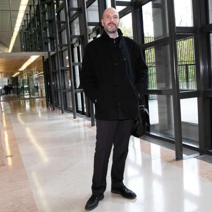 Bart Gruyaert, président fondateur d'Altifort et repreneur de Ascoval, à Paris, le 31 octobre 2018.