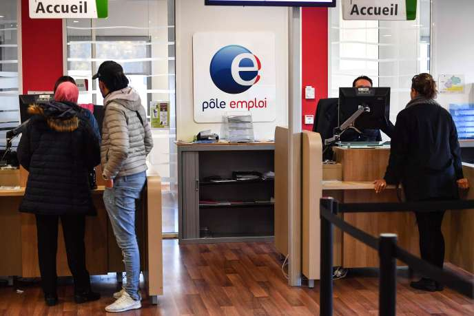 Dans une agence Pôleemploi de Montpellier (Hérault), le 3 janvier.