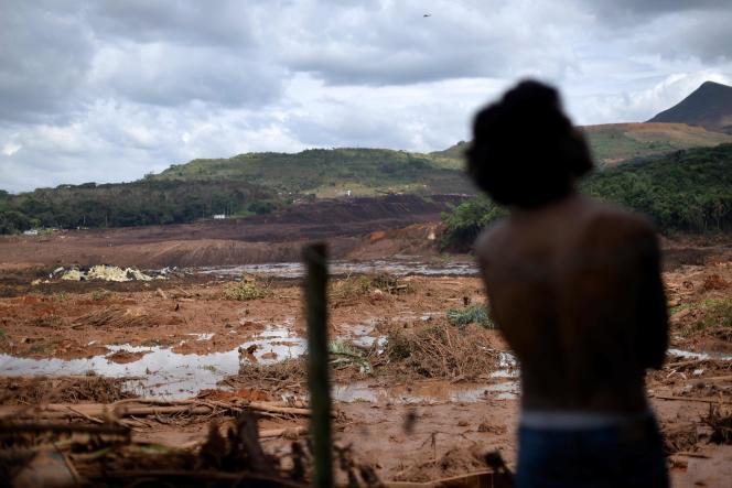 Près de la ville de Brumadinho, samedi 26 janvier.