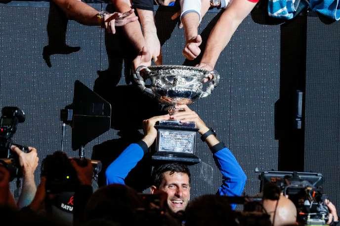 Novak Djokovic a désormais 15 titres du Grand Chelem dans sa besace. Il est à deux longueurs de Nadal (17) et cinq de Federer (20).