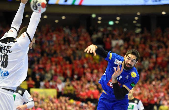 A la dernière seconde du match, Nikola Karabatic a inscrit le but vainqueur, face à l'Allemagne.