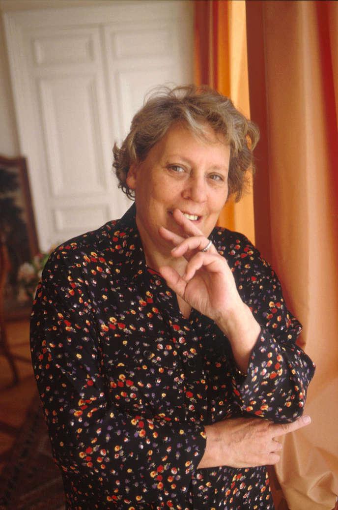 Janine Garrisson, en 2001.