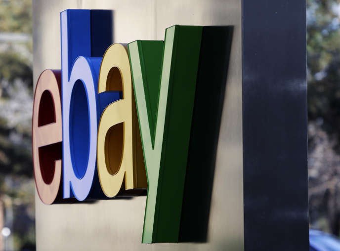 Au siège d'eBay, à San José (Californie), en janvier 2015.