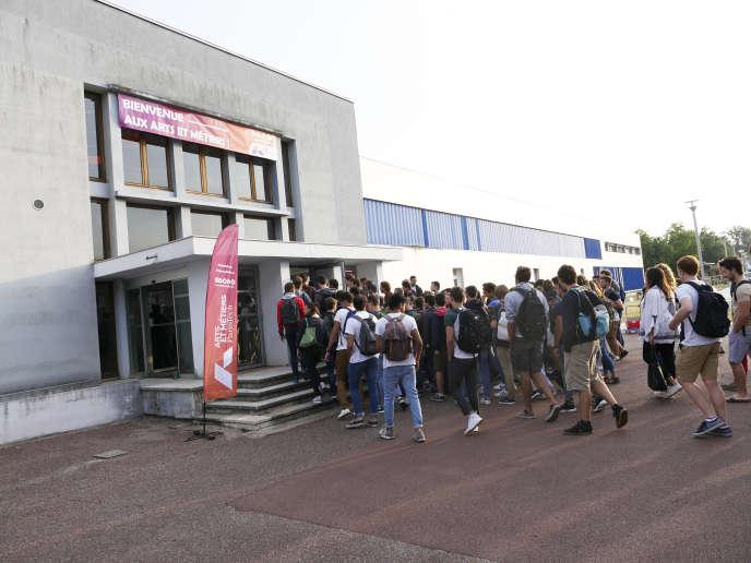 L'Ecole nationale supérieure d'arts et métiers de Bordeaux-Talence.