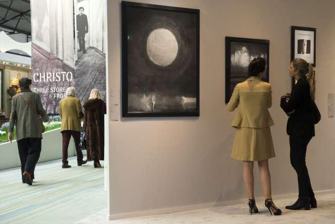 La 64e édition de la Foire d'art de Bruxelles se déroule jusqu'au dimanche 3 février 2019.