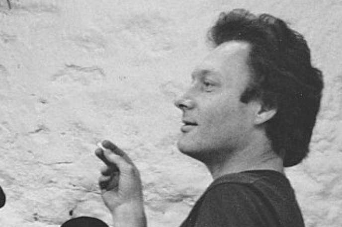 Emmanuel Hocquard à Malakoff , à la fin des années 1970.