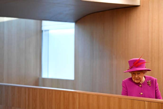 Elizabeth II, à Londres, le 13 décembre 2018.