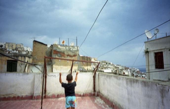 Dans la casbah d'Alger, en 2011.