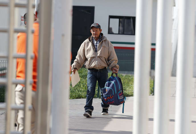 Carlos Catarldo Gomez, a 55-year-old Honduran, was returned to the Mexican border on January 29.