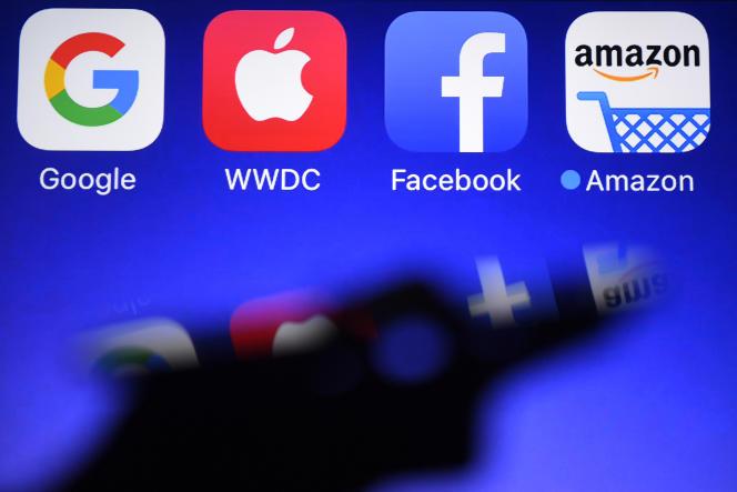 L'acronyme GAFA désigne les entreprises Google, Apple, Facebook et Amazon.