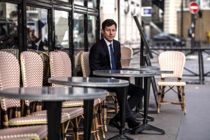François-Xavier Bellamy voudrait conduire la liste des Républicains (LR) pour les élections européennes, à Paris, le 28 janvier.