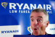 Le patron de Ryanair, Michael O'Leary, à Machelen, près de Bruxelles, en octobre 2018.