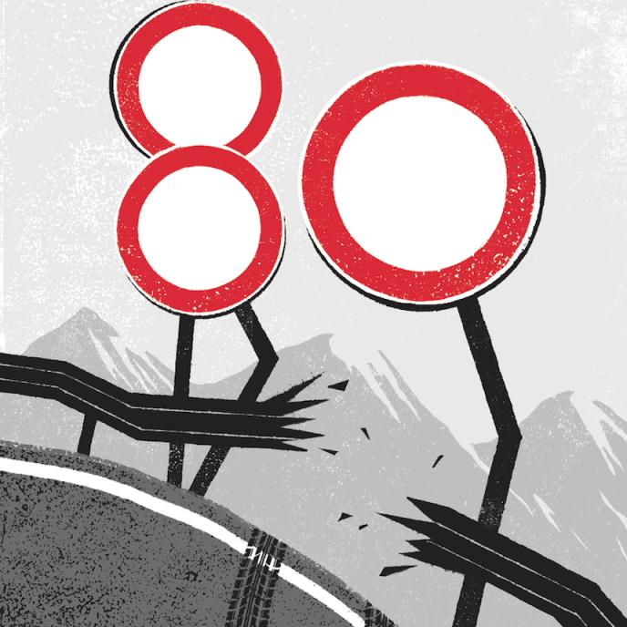 En Haute-Loire, les routes, dont 60% passent à plus de 800 mètres d'altitude, figurent parmi les plus dangereuses de France.