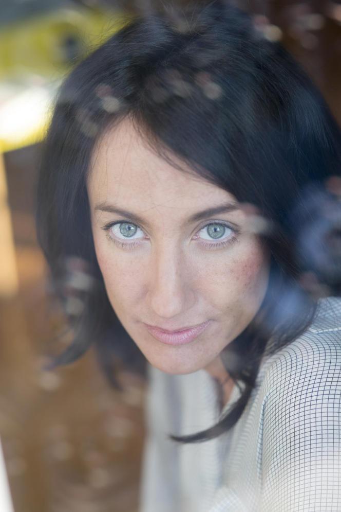 L'écrivaine Maria Pourchet, en 2015.