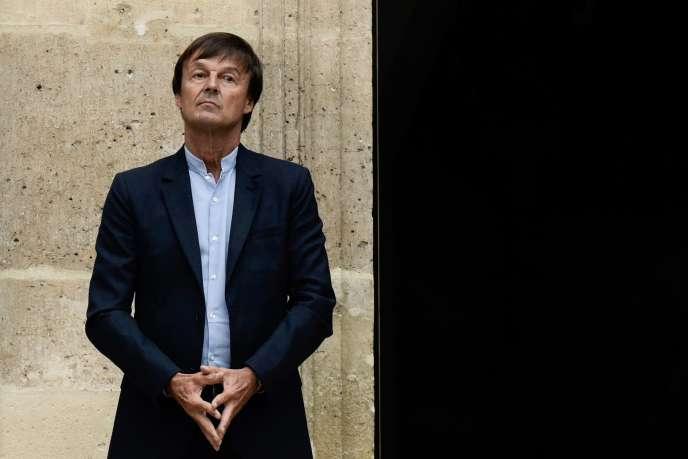 Nicolas Hulot, à Paris, le 4 septembre 2018.