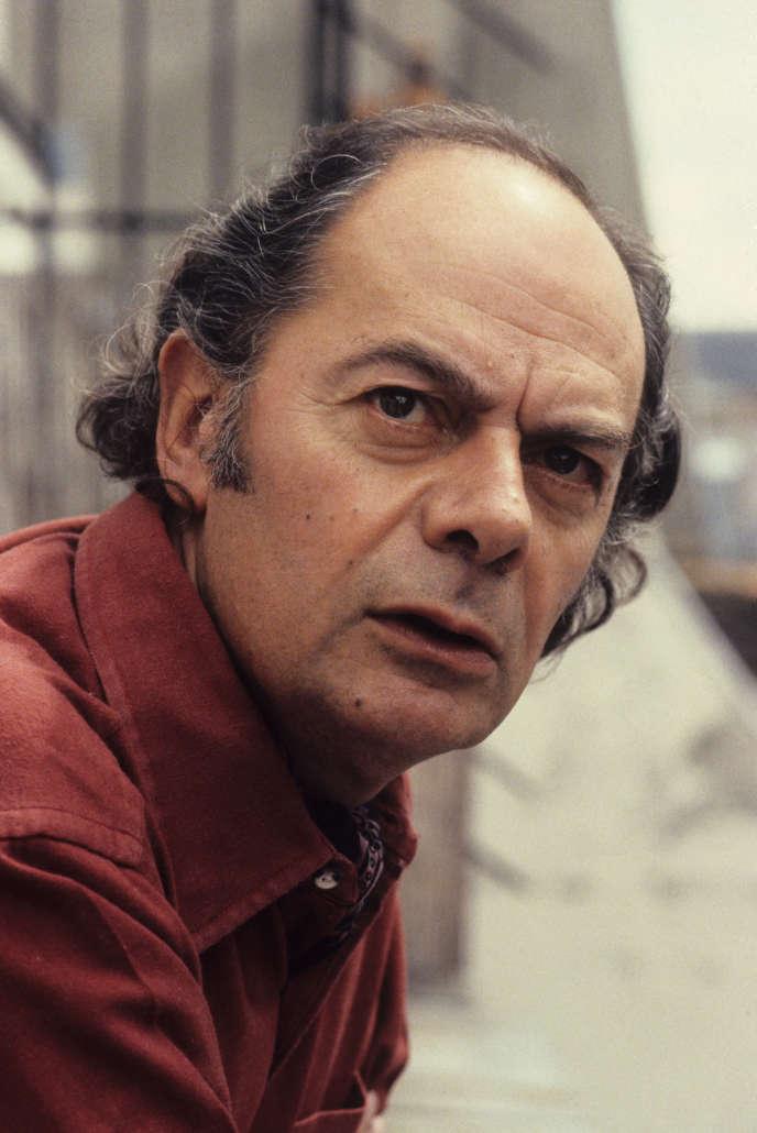 Le philosophe Claude Lefort, en 1981.
