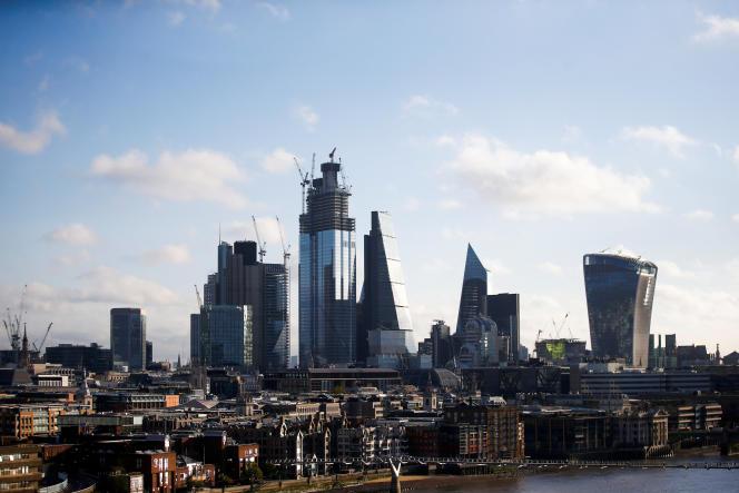 La City de Londres, en octobre 2011.